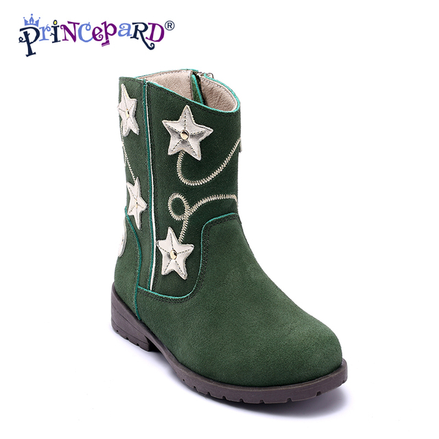 8be9016aae Princepard Kids Boots Shoes For Girl Boys baby Leather Sneakers Girls Shoes  For Children Ankle Boots