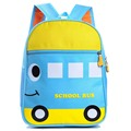 2017 bonito sapo animal dos desenhos animados escola bags para a menina meninos crianças mochila crianças do jardim de infância saco mochila escolar de ônibus para a idade 2-5