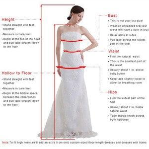 Image 5 - Vestidos de noite formal plus size, robe de baile, ombro fora, celebridade, vermelho, 2019 soiree