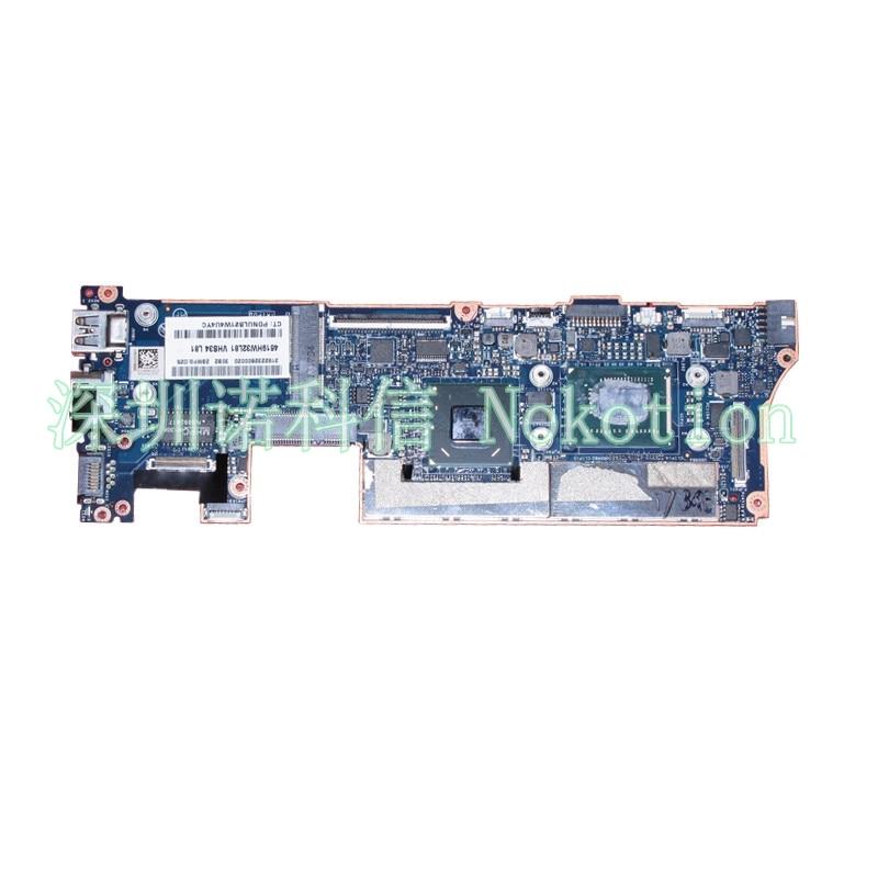 NOKOTION 714758-501 714758-001 VCU01 LA-8554P for HP ENVY Spectre XT13 XT 13-2000 laptop motherboard SR0XG I7-3537U Mainboard