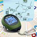 En Busca de Carretera Mini Tracker GPS de Mano Monedero Rastreador Navigator USB de Carga Deportes Al Aire Libre Escalada Largo Viaje Turístico GPS