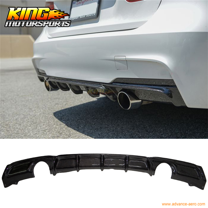 Fit For 2012 2016 13 14 15 Bmw F30 Dual Exhaust 335 M Tech Sport P