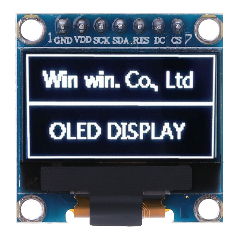 OOTDTY 0.98 OLED Module White Color 128X64 LCD Display IIC SPI Module DIY For Arduino