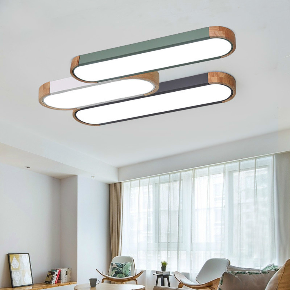 Nordic lamp modern minimalist personality creation led long lamps into the hall to absorb ceiling lamp corridor light LU815944