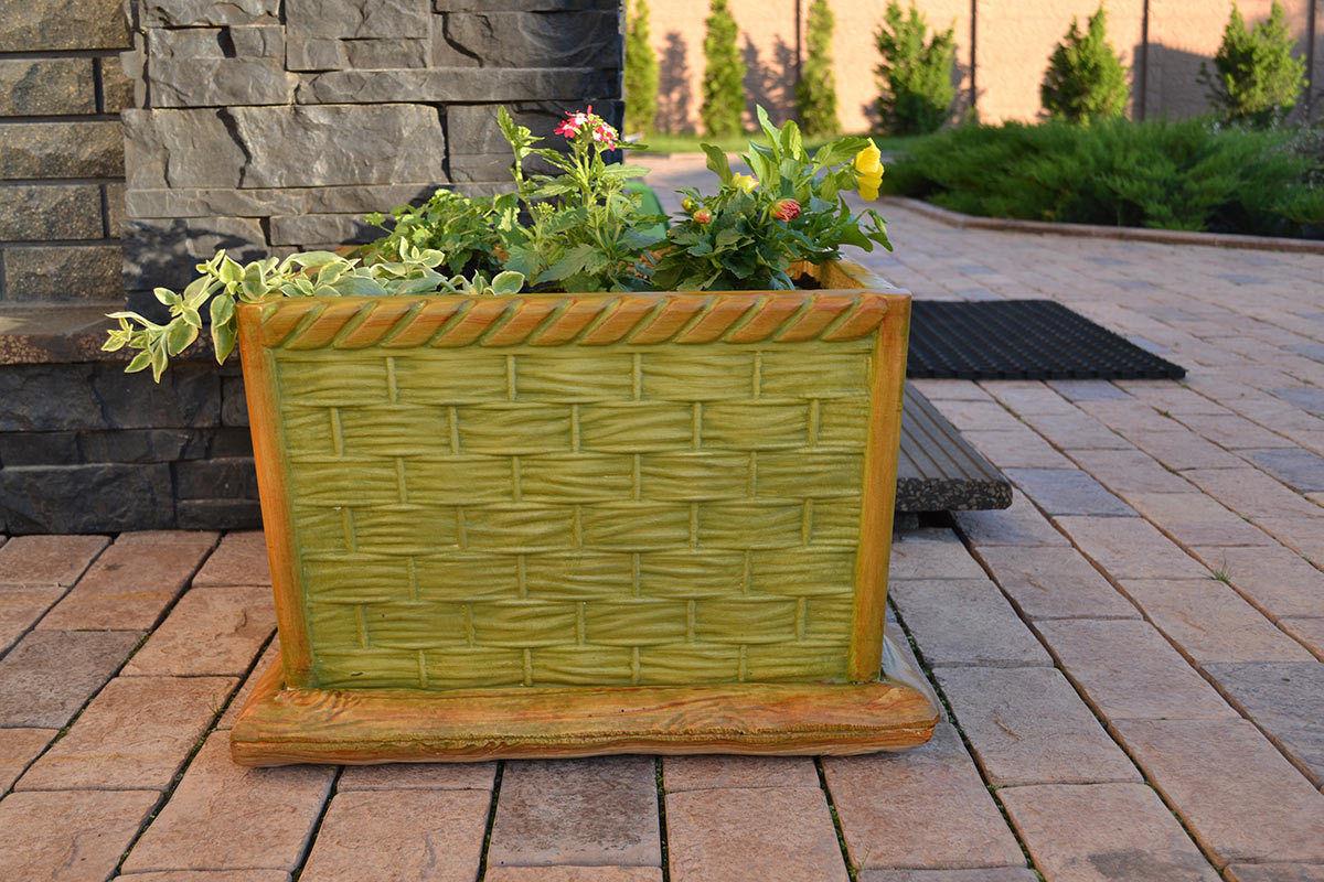 5 Pieces / Garden Yard Planting Concrete Mold Mold DIY Home Decoration Plastic Molds