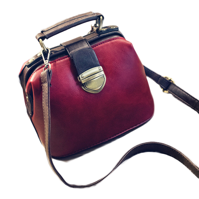 MISS YING 2017 Summer Women Messenger Bags Ladies PU Leather Vintage Small Doctor Bags H ...