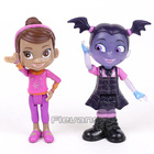 Junior Vampirina The Vamp PVC Action Figures Toys for Girls Christmas Gift 8cm 2pcs/set
