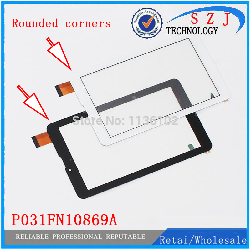 New 7'' inch Touch Screen For P031FN10869A VER.00 Tablet Outer Touch panel Glass Sensor replacement Free Shipping 10pcs/lot 9 7 inch touch screen tablet computer touch screen bm2 85 0970940 00