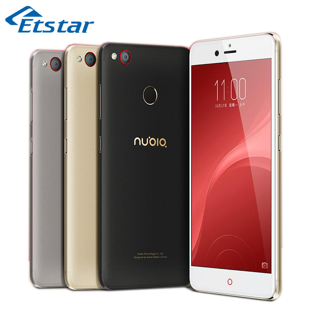Оригинал ZTE Nubia Z11 Mini S 5.2 Дюймов FHD 4 ГБ RAM 64 ГБ ROM Snapdragon 625 Окта Ядро 23.0MP Камеры 1080 P 4 Г FDD-LTE Android 6.0