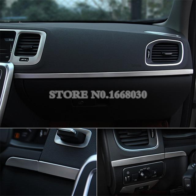 Interior Center Console Moulding Trim Cover 5pcs For VOLVO V60 S60 ...