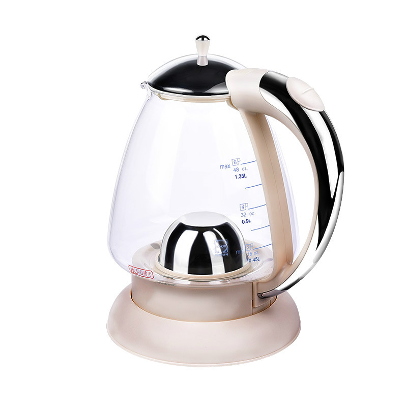 цена на Electric kettle German imported glass electric transparent automatic blackouts household