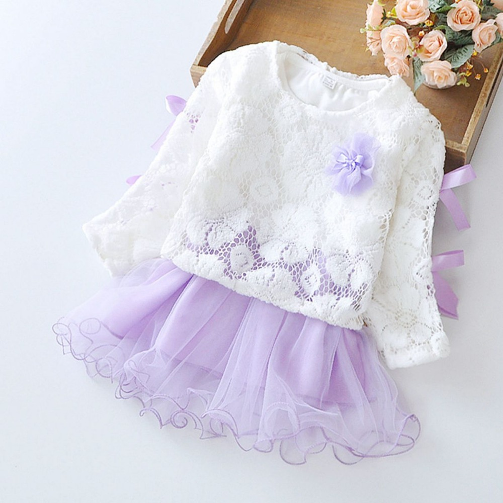 Spring-Long-Sleeved-Flower-Bow-Infant-Kids-Baby-Bebe-Girls-Lace-TopsDresses-Two-Pieces-Princess-Tutu-Birthday-Party-Dress-MT596-1