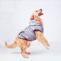 NUOVO Autunno Grandi Cani di Grossa Taglia Abbigliamento Grigio Morbido Pet Giacca di Maglia Dog Hoodie Chow Chow Golden Retriever 3XL 4XL 5XL 6XL 7XL
