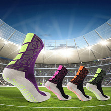 купить Dispensing non-slip football socks, thickening towel, bottom tube socks, tube sports socks по цене 403.81 рублей