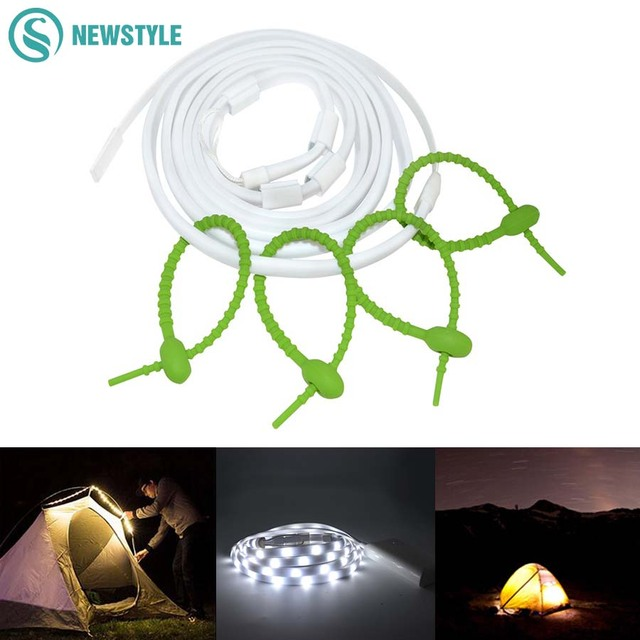 2m 60led portable led camping light waterproof usb charging flexible 2m 60led portable led camping light waterproof usb charging flexible led strip rope lantern for camping aloadofball Gallery