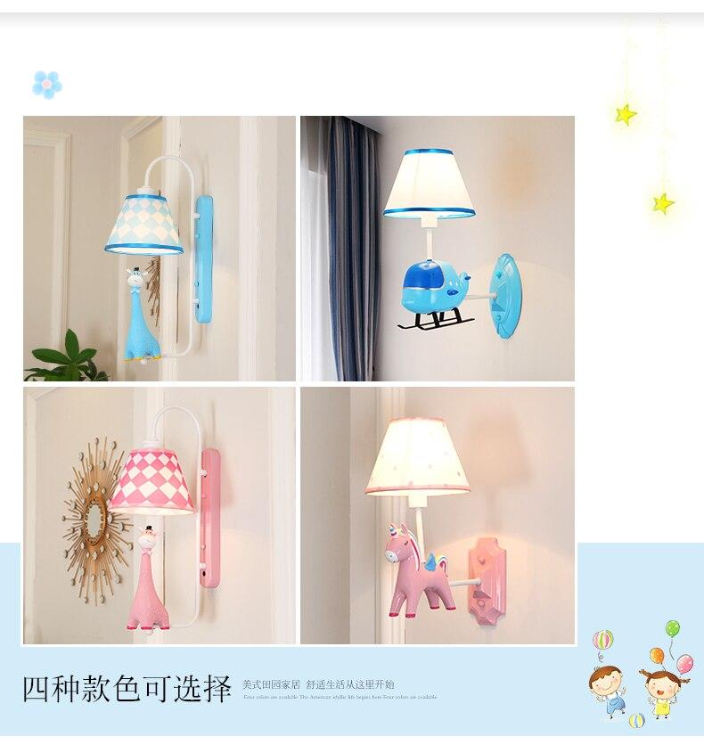 crianças lâmpada de parede arandela cuidados com