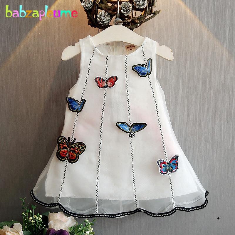 6f8e992d9 أحدث أزياء الأطفال ملابس أطفال بنات زي الفراشة تصميم طفل بنات الأميرة  اللباس حزب أكمام a074