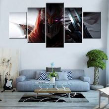 5 Piece Canvas Wallpapers modernHeroes Alliance Poster Modular art painting for Living Room Home Decor