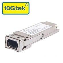 QSFP+ Fiber Optic Module, 40GBase-SR4, 40Gb QSFP Transceiver for MMF QSFP-40GE-SR4 QFX-QSFP-40G-SR4. MTP/MPO 4-lanes 850nm