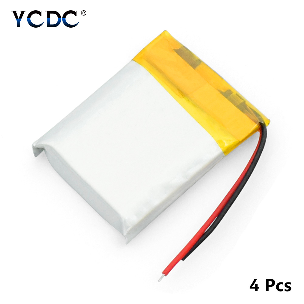 3.7V 200mAh Rechargeable Li-Po Lithium Li-polymer Replacement <font><b>Battery</b></font> <font><b>502025</b></font> <font><b>Batteries</b></font> For Bluetooth Headset GPS MP3 image