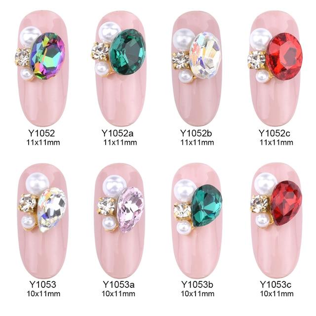 Aliexpress Buy 5pcs 3d Nail Jewelry Nail Art Strass Crystal