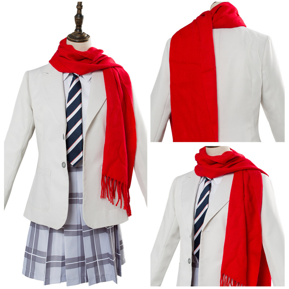 Cosplay DARLING in the FRANXX Code 002 Zero Two Cosplay Costume School Uniform Halloween Carnival Costumes Full Set