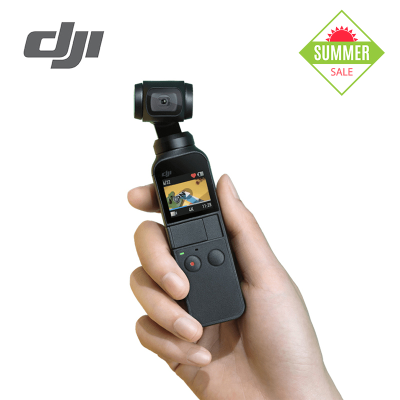 DJI Osmo Pocket 4K 60fps Video Mechanical Stabilization Intelligent Shooting 3 axis stabilized handheld camera