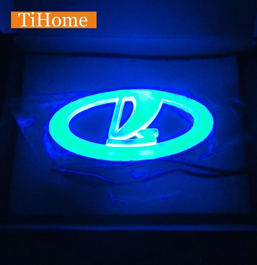 Lada LED Car LOGO Light/LED car badge light for VAZ Lada Priora 2170 2171/Patriot/Kalina/Largus/Niva/2106/2103