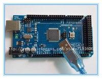 Freeshipping Mega 2560 R3 Mega2560 REV3 ATmega2560 16AU Board NO USB Cable Compatible For Arduino
