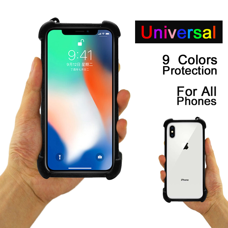 Case Blackview R7 6-Cover Soft-Silicone For P2 Minimal Universal