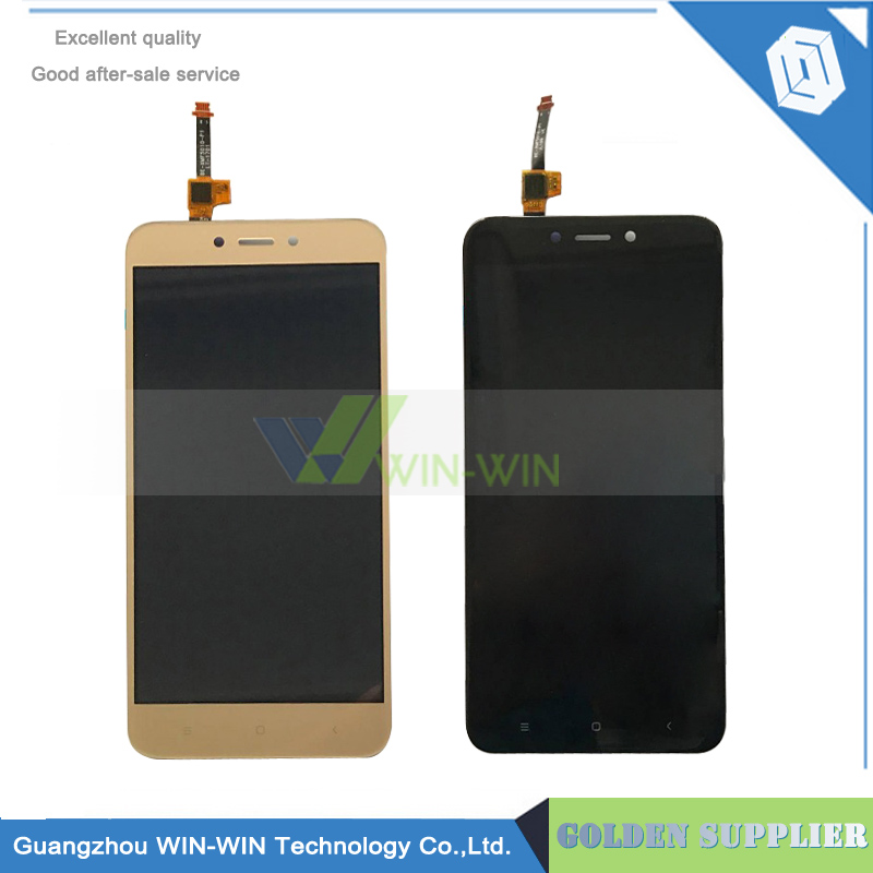 10pcs/lot LCD screen display+touch panel digitizer For 5.0Xiaomi Redmi 4X black /white /gold free shipping lcd screen display touch panel digitizer with frame for htc one m9 black or silver or gold free shipping