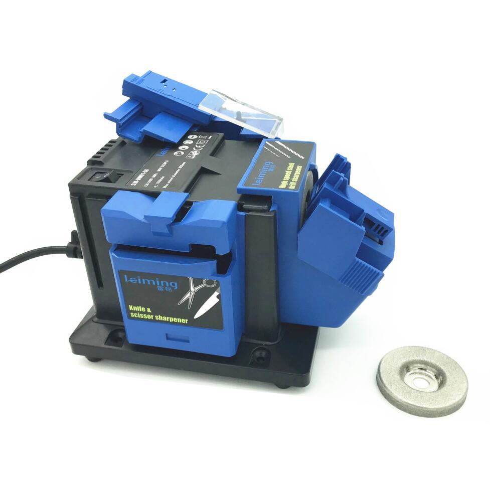 Многофункциональная точилка 96 Вт бытовой шлифовальный инструмент точилка для ножей скручивающаяся дрель HSS дрель ножницы зубило электриче...