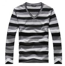 man fake designer clothes mens jumper v neck male sweaters polo pullover L-4XL