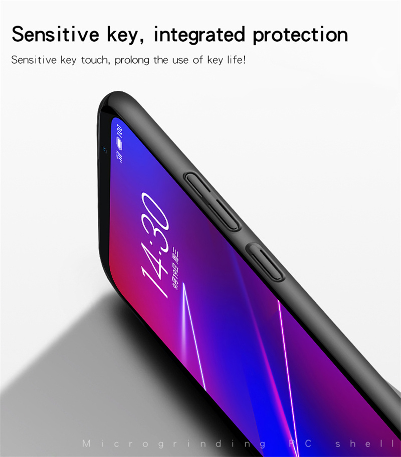 Image 5 - Meizu 16 X Case Silm Luxury Ultra Thin Smooth Hard PC Phone Case For Meizu 16 Back Cover For Meizu 16X Full Protection Fundas *-in Fitted Cases from Cellphones & Telecommunications