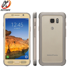 Original Samsung Galaxy S7 active G891A Mobile Phone 5.1 inch 4GB RAM 32GB ROM Quad Core 2560x1440p Android 4000 mAh Smart Phone