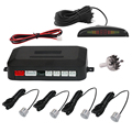Car Parking Sensor Kit  For All Cars Reverse parking Assistance Auto LED Display 4 Sensors Radar Monitor Parking System
