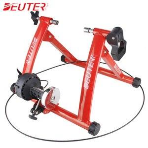 """Image 3 - Rollers para treinamento de ciclismo, treinador para bicicleta, exercícios internos, resistências magnéticas de 26 28 """", estação de fitness, treinador de bicicleta"""