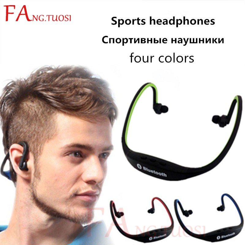 FANGTUOSI Bluetooth earphone sport wireless bluetooth headset Support TF Card stereo bluetooth Earphones for phone iPhone Xiaomi wireless headphones bluetooth 4 1 headset stereo earphone with microphone support tf card for iphone pc mobile phone eps33