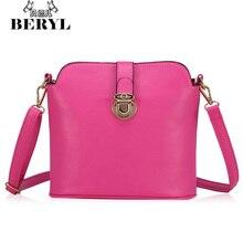 2015 mode Frauen Umhängetaschen frauen Leder Messenger Bags Eimer Tasche Casual Lady Umhängetasche Kleine Handtasche Bolso Sac #46