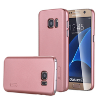 [Frosted Shield] Slim Fit [Rose Gold] Premium Matte Finish Hard Case for Samsung Galaxy S7 case with Screen Protector