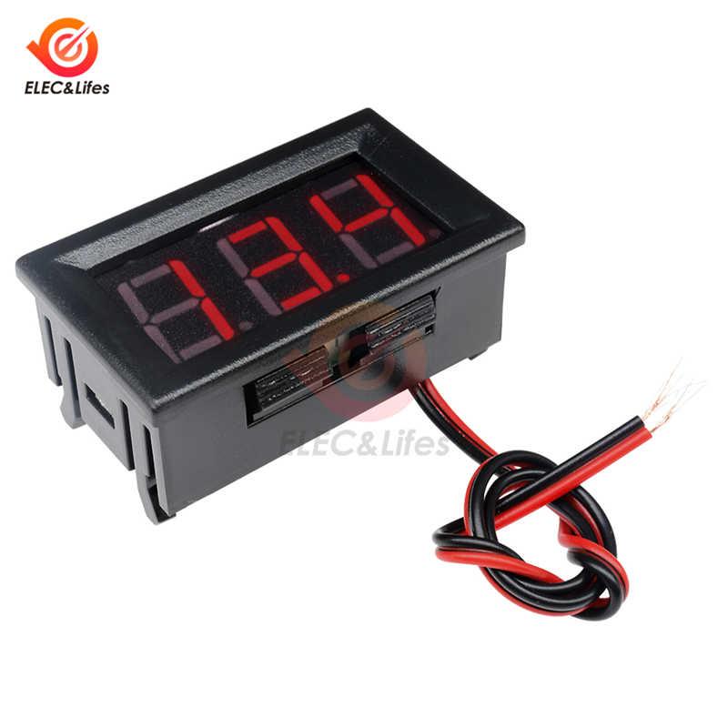 Dc 4.5-30v 0.56 インチミニデジタル電圧計ledパネルelectromoble車の自動車アンプボルトモニターテスター電圧計ゲージ 12v