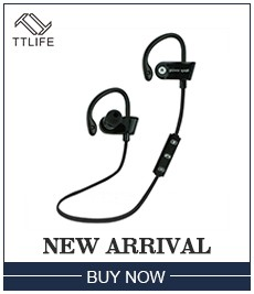 TTLIFE Wireless HiFi Earphone 2 Battery 150 Mah Bluetooth Sports Earphones Noise Cancelling Earbuds For Phone Samsung xiaomi 5