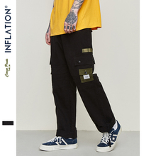 INFLATION Ankle Drawstring Pants Male Bound Feet Trousers To