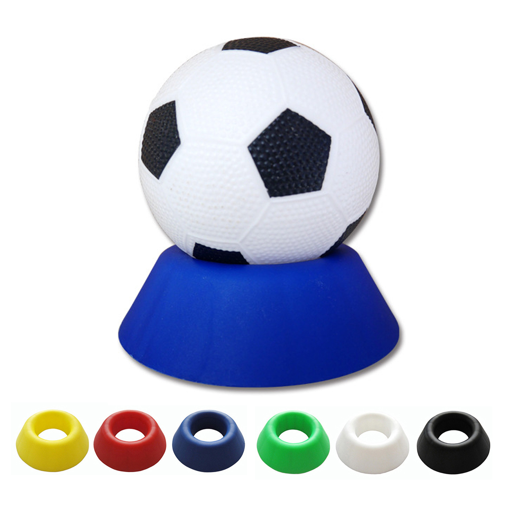 1 PCS Plastic Ball Stand Display Holder Rack Support Base For Soccer Volleyball Basketball Football Rugby Ball Collection new