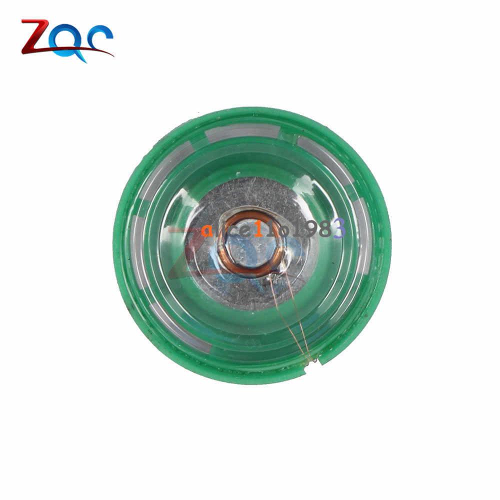 2 uds. Altavoz pequeño de 8 ohmios y 0,25 W 29mm de diámetro, miniamplificador de potencia, altavoz de trompeta de 0,25 vatios