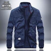 Military Quality AFS JEEP Autumn New Men Hoodies Spring Men Hoody Jacket Loose Stand Sweatshirt Plus
