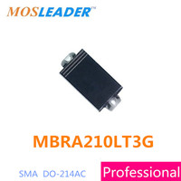 Mosleader MBRA210LT3G SMA DO214AC 1000PCS 5000PCS 10V 2A MBRA210 Made in China High quality