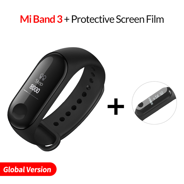 US $22 39 |Xiaomi Mi Band 3 Smart Bracelet Activity Miband 3 0 78 Inch OLED  Touchpad band 2 Update Heart Rate Monitor Band3 Fast Shipping-in Smart