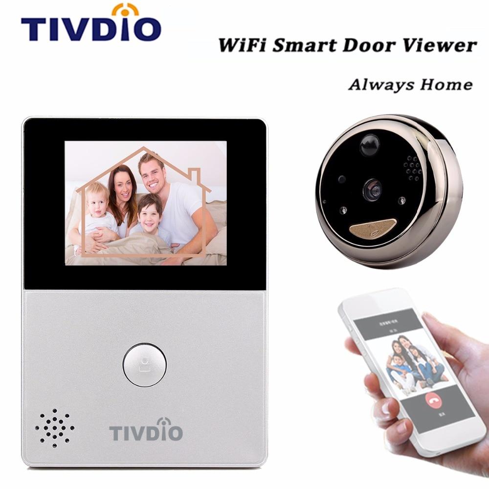 front door camera monitorAliexpresscom  Buy WiFi Doorbell 28 OLED HD Screen Monitor