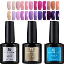 3PCS Gel UV Polish 10ml Blue Place 120 Shinning Colors Fingers Professional Nail Art UV LED Lamp Gel Lac Varnish Good quality